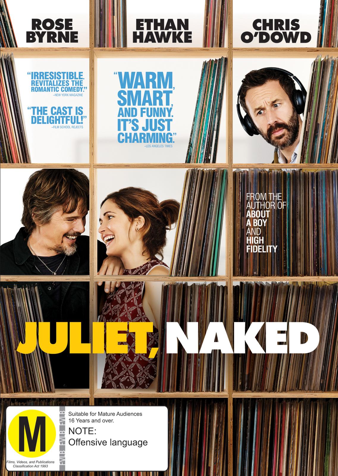 Juliet, Naked on DVD image