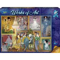 Holdson: 1000 Piece Puzzle - Works of Art (Gustav Klimt Gallery)