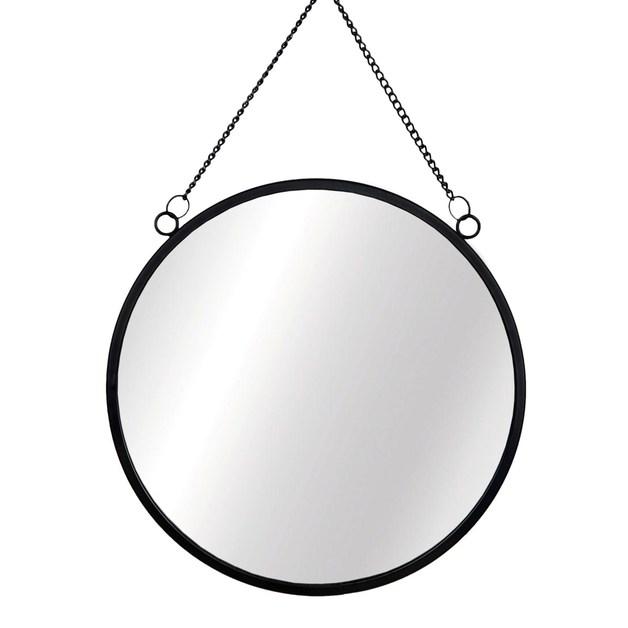 Sass & Belle: Jet Black Round Mirror