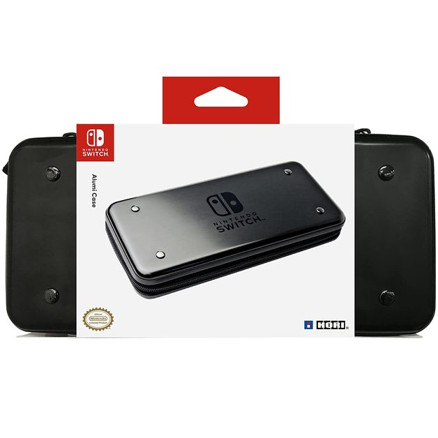 Switch AlumiCase (Black) by Hori for Switch