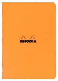 Rhodia Classic Stapled Cahier A5 (Orange)