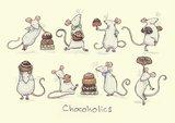 Two Bad Mice - Chocoholics Card