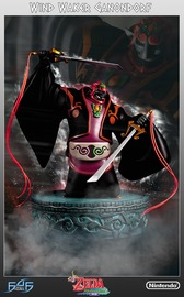 "Legend of Zelda: Wind Waker - Ganondorf 15"" Statue"