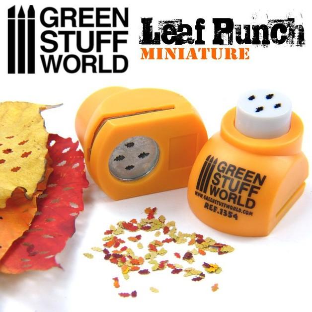 Green Stuff World - Miniature Leaf Punch (Orange)