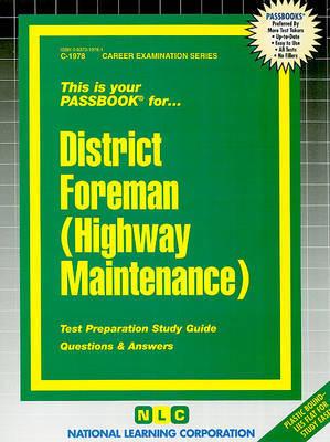 District Foreman (Highway Maintenance)