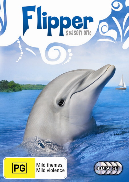 Flipper (1964) - Season 1 (4 Disc Set) on DVD image