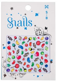 Snail: Nail Stickers Set (Candy Blast)