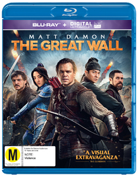 The Great Wall on Blu-ray