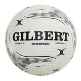 Gilbert Phoenix Netball -White (Size 4)