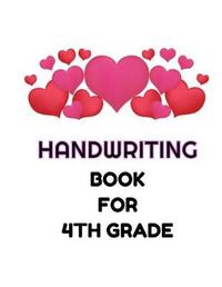 Handwriting Book For 4th Grade by Blue Elephant Books