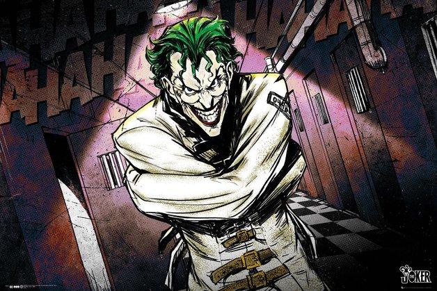 DC Comics: Maxi Poster - Joker Asylum (1026)