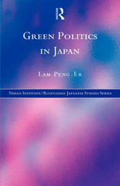 Green Politics in Japan by Lam Peng Er image