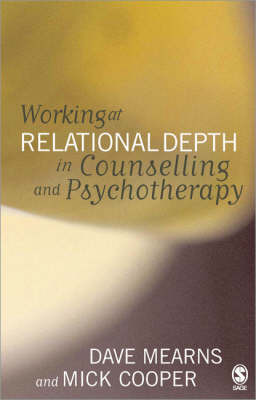 Working at Relational Depth in Counselling and Psychotherapy by Dave Mearns image