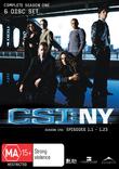CSI - New York: Complete Season 1 DVD