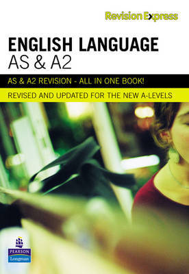 Revision Express AS and A2 English Language by Alan Gardiner image