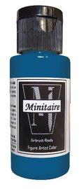 Badger: Minitaire Acrylic Paint - Nautilus Blue (30ml)