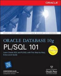 Oracle Database 10g PL/SQL 101 by Christopher Allen image