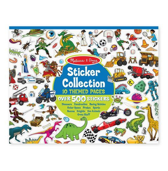Melissa & Doug: Sticker Collection Blue