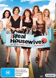 The Real Housewives: Of New York - Season Two on DVD
