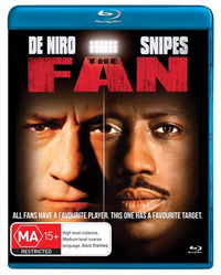 The Fan on Blu-ray