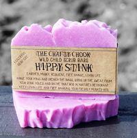 The Crafty Chook Hippy Stink Soap
