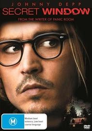 Secret Window on DVD