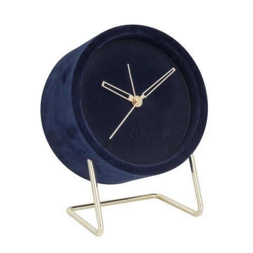 Karlsson Alarm Lush Velvet (Blue)