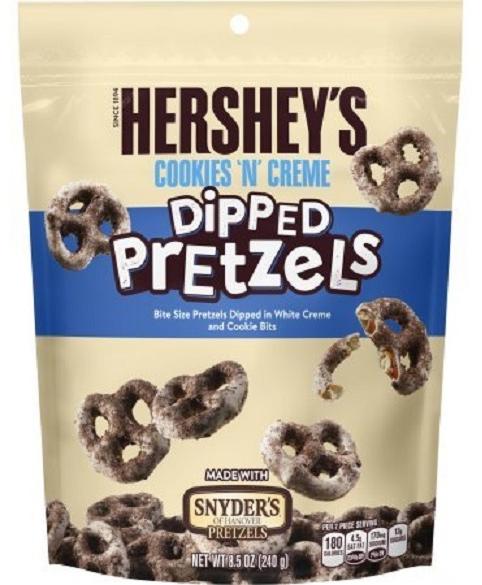 Hershey's Cookies N Creme Dipped Pretzels 240g