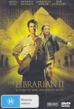The Librarian II - Return To King Solomon's Mines on DVD