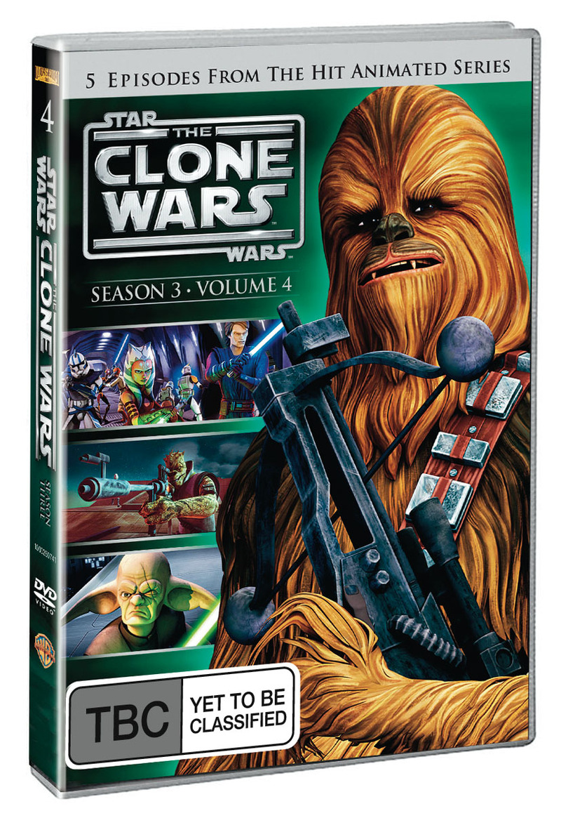 Star Wars: The Clone Wars - Season 3 Volume 4 on DVD image