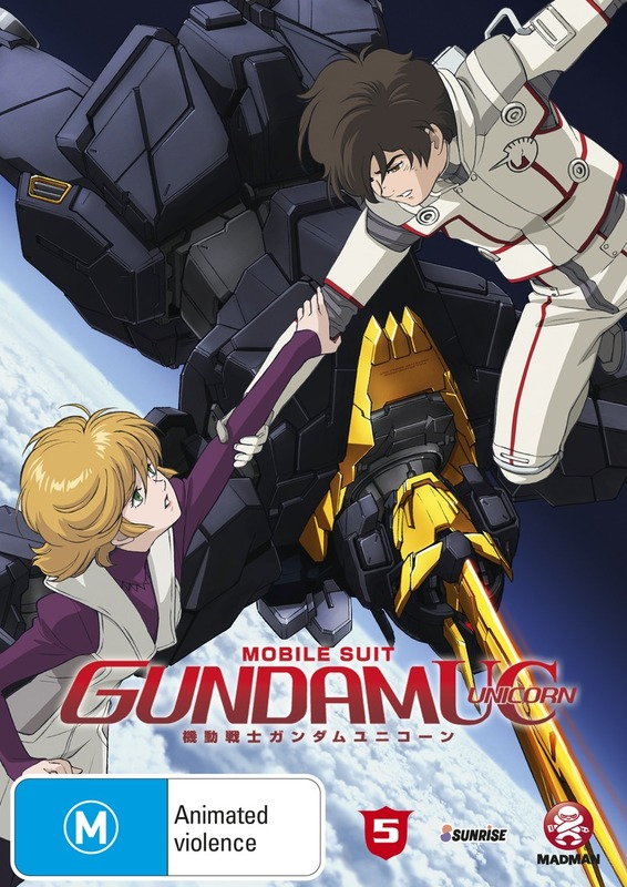 Mobile Suit Gundam Unicorn - Volume 5 on DVD