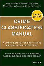 Crime Classification Manual by Ann W Burgess image