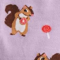 Women's - Squirreling Around Knee High Socks image