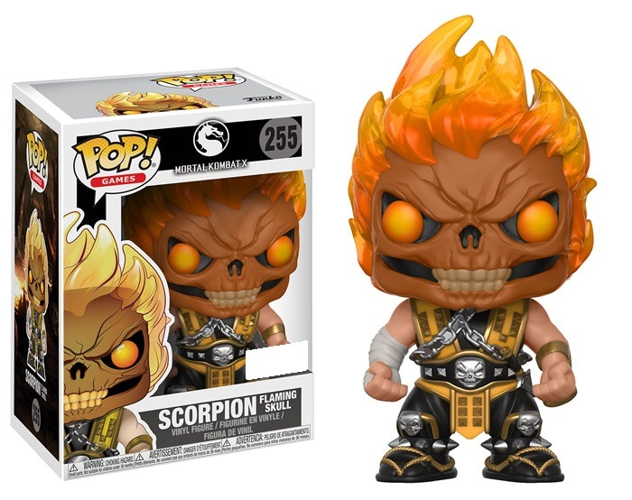 Mortal Kombat - Scorpion (Flaming Skull Ver.) Pop! Vinyl Figure image
