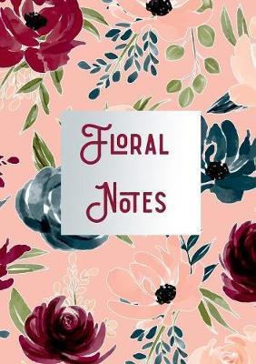 Floral Note Book by Sue Fleckenstein