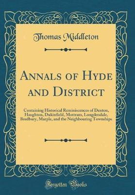 Annals of Hyde and District by Thomas Middleton image