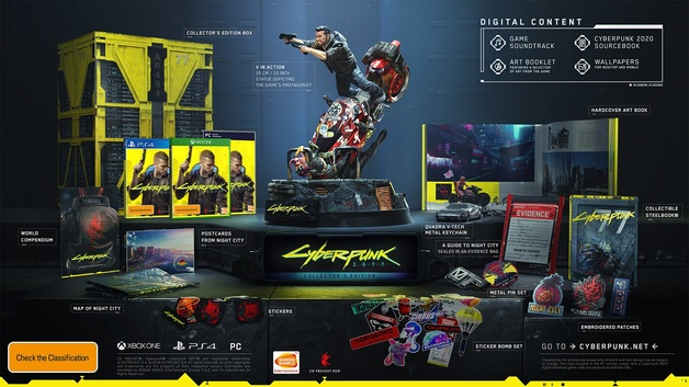 Cyberpunk 2077 Collector's Edition for PS4
