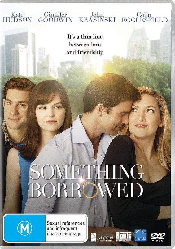 Something Borrowed on DVD
