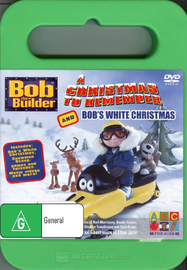 Bob The Builder - A Christmas To Remember And Bob's White Christmas on DVD image
