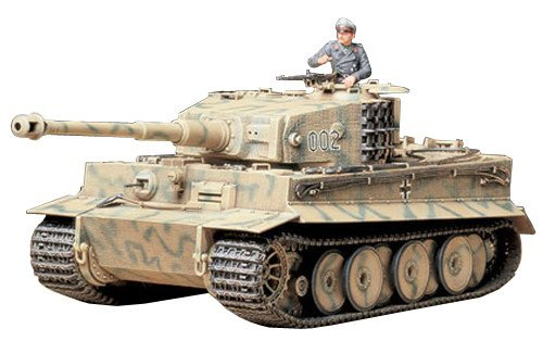 Tamiya 1/35 German Tiger I Mid-Production - Model Kit