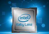 Intel Kaby Lake Core i3 7350K CPU