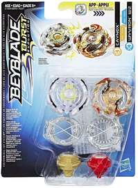 Beyblade: Burst - Caynox and Wyvron W2 Duo Pack