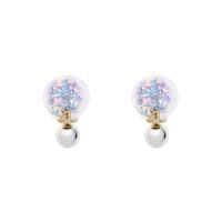 Short Story: Fantasy Bubble Earrings Confetti Pastel