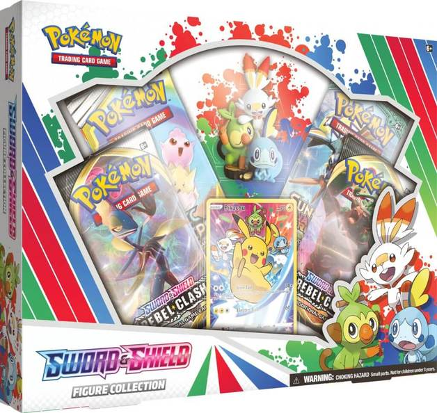 Pokemon TCG: Sword and Shield Figure Collection