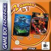 Hot Wheels Velocity X + Hot Wheels World Race (Double Pack) for Game Boy Advance