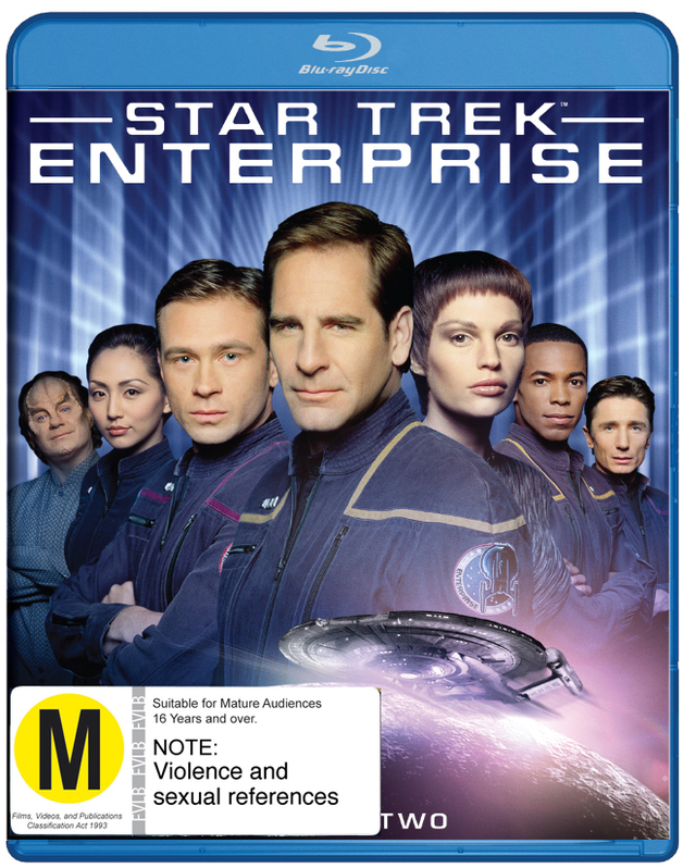 Star Trek Enterprise - The Complete Second Season on Blu-ray