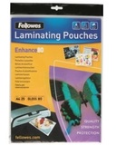 Fellowes Laminating Pouch 80 Micron A4 (25 Pack)