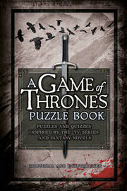 A Game of Thrones Puzzle Book by Tim Dedopulos