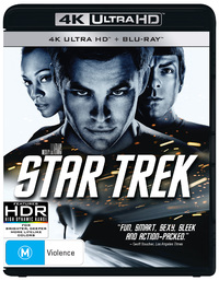 Star Trek XI on Blu-ray, UHD Blu-ray image