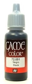 Vallejo Game Colour Chaos Black 17ml